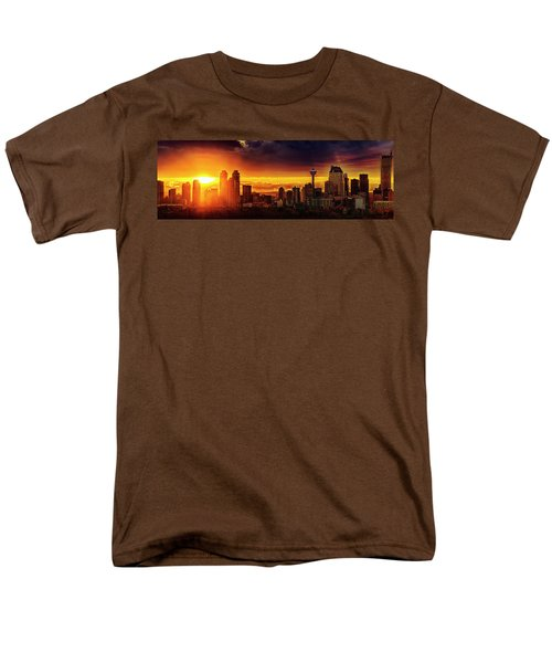 Men's T-Shirt  (Regular Fit) featuring the photograph Jewel Of The Foothills by John Poon
