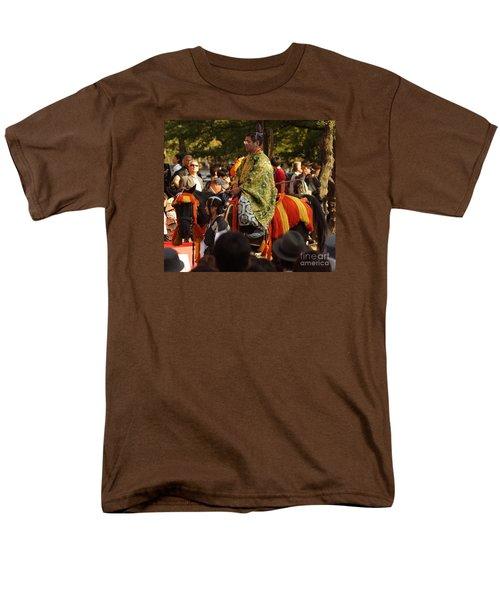 Men's T-Shirt  (Regular Fit) featuring the photograph Jidai Matsuri Xvi by Cassandra Buckley