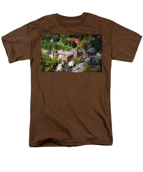 Jim Thorpe Pa Men's T-Shirt  (Regular Fit) by Cindy Manero
