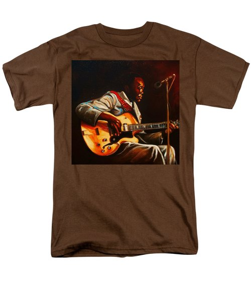 Men's T-Shirt  (Regular Fit) featuring the painting John Lee by Emery Franklin