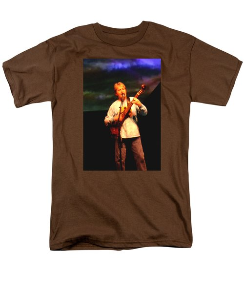 Jon Anderson Of Yes Men's T-Shirt  (Regular Fit) by Melinda Saminski