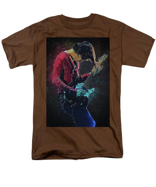 Jonny Greenwood Men's T-Shirt  (Regular Fit) by Semih Yurdabak