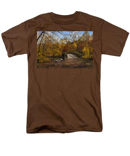 Jordan Park Bridge Men's T-Shirt  (Regular Fit) by Judy Johnson