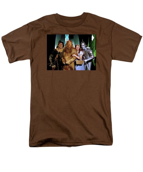 Judy Garland And Pals The Wizard Of Oz 1939-2016 Men's T-Shirt  (Regular Fit) by David Lee Guss