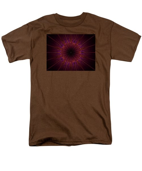 The Violet Blessings Of The Crown Chakra Men's T-Shirt  (Regular Fit) by Ernst Dittmar