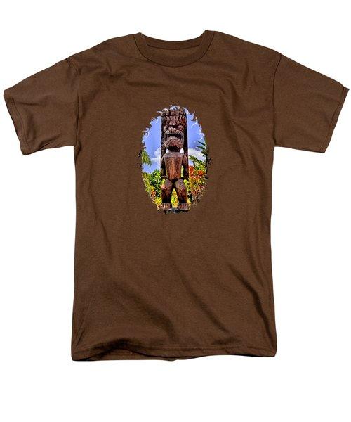 Kaanapali Tiki Men's T-Shirt  (Regular Fit) by DJ Florek