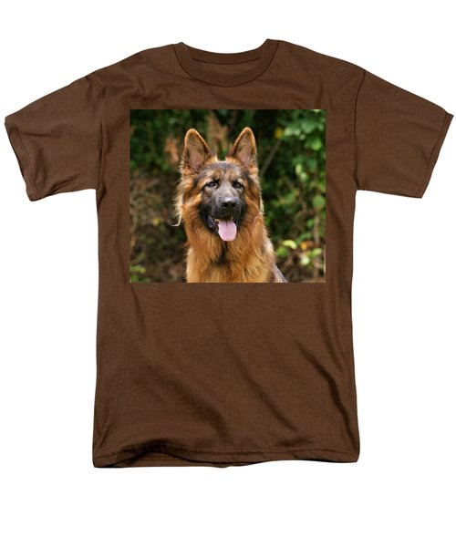 Kaiser - German Shepherd Men's T-Shirt  (Regular Fit) by Sandy Keeton