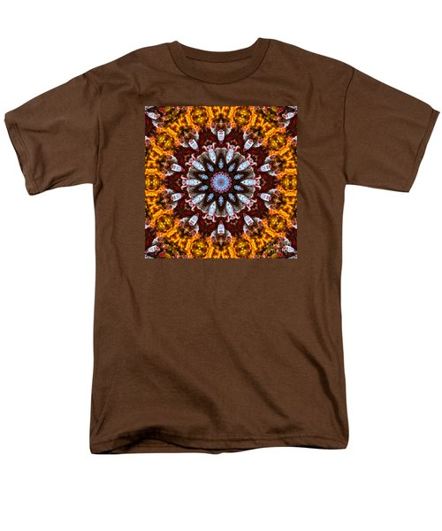 Kaleidoscope In Gold Men's T-Shirt  (Regular Fit) by Marilyn Carlyle Greiner