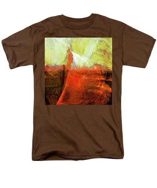 Men's T-Shirt  (Regular Fit) featuring the painting Kilauea by Dominic Piperata