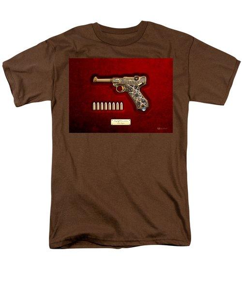 Krieghoff Presentation P.08 Luger  Men's T-Shirt  (Regular Fit) by Serge Averbukh