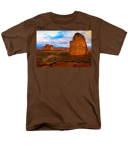 Men's T-Shirt  (Regular Fit) featuring the photograph La Sal Daylight by Harry Spitz