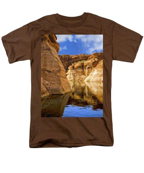 Lake Powell Stillness Men's T-Shirt  (Regular Fit) by Dominic Piperata
