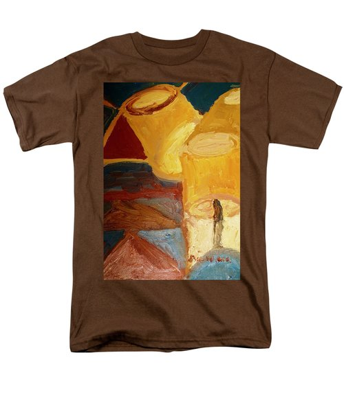 Lamps In Color Men's T-Shirt  (Regular Fit) by Shea Holliman
