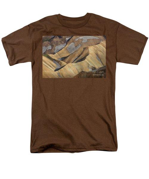 Men's T-Shirt  (Regular Fit) featuring the photograph Landmannalaugar Natural Art Iceland by Rudi Prott