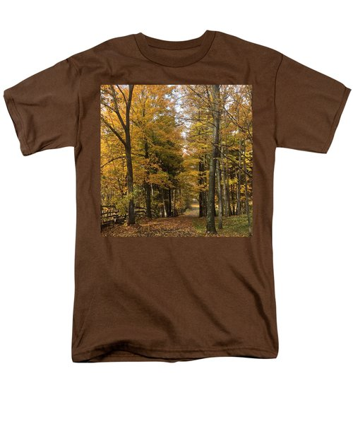 Men's T-Shirt  (Regular Fit) featuring the photograph Lane by Pat Purdy