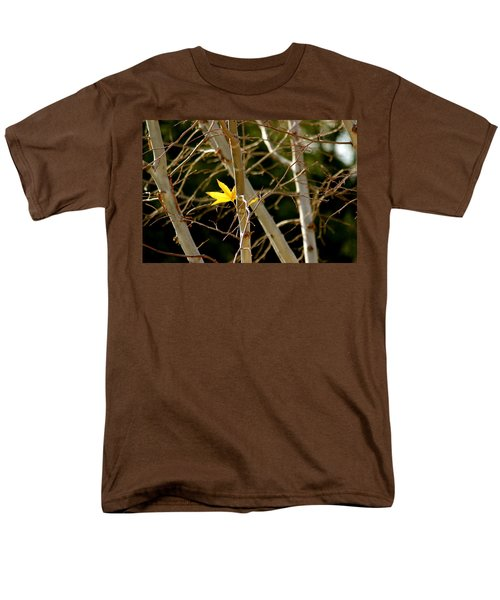 Men's T-Shirt  (Regular Fit) featuring the photograph Last Leaf by Kume Bryant