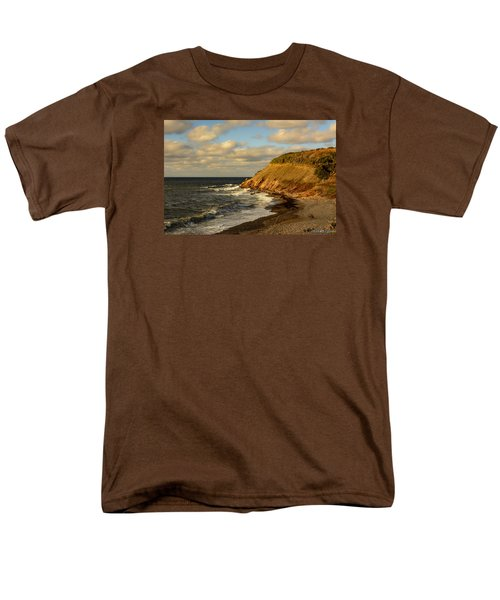 Late In The Day In Cheticamp Men's T-Shirt  (Regular Fit) by Ken Morris