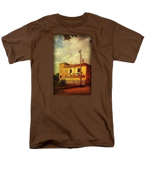 Men's T-Shirt  (Regular Fit) featuring the photograph Laundry Day by Anne Kotan