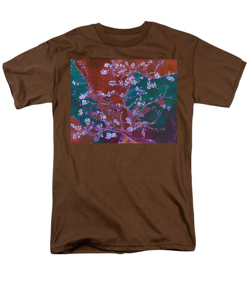 Layered 2 Van Gogh Men's T-Shirt  (Regular Fit) by David Bridburg