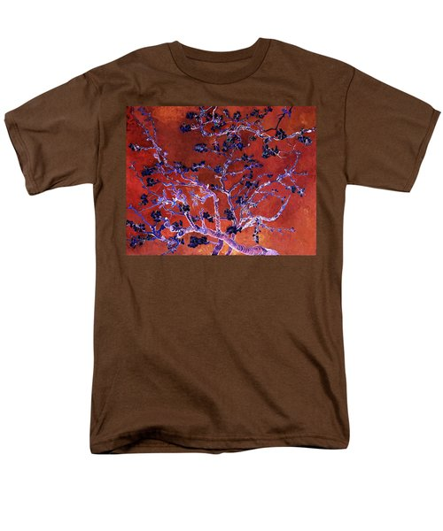 Layered 9 Van Gogh Men's T-Shirt  (Regular Fit) by David Bridburg