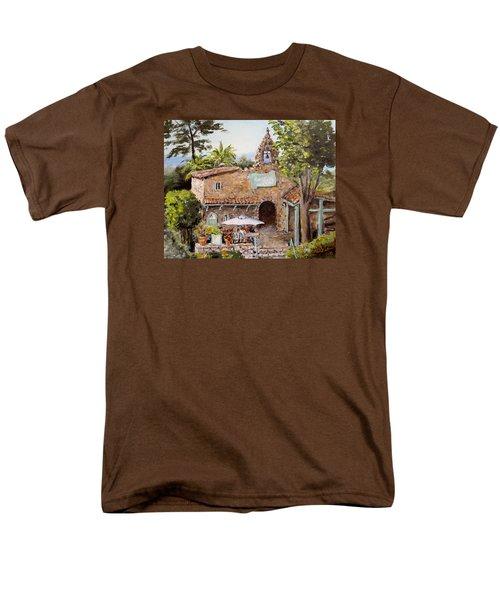 Le Petite Chapelle Men's T-Shirt  (Regular Fit) by Alan Lakin
