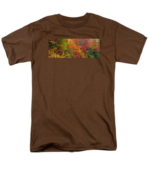 Leaf Tapestry Men's T-Shirt  (Regular Fit) by Rob Hemphill