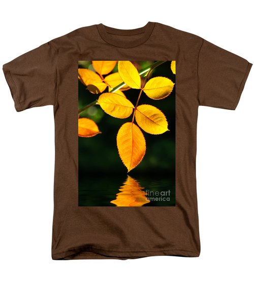 Leafs Over Water Men's T-Shirt  (Regular Fit) by Carlos Caetano