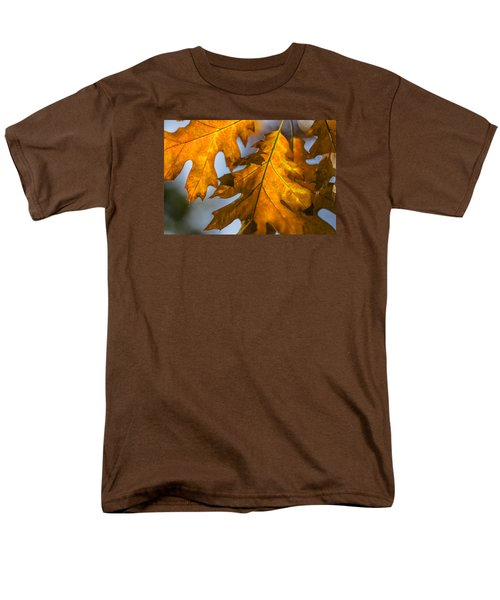 Men's T-Shirt  (Regular Fit) featuring the photograph Leaves by Randy Bayne