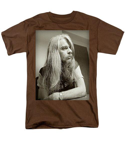 Leon Russell 1970 Men's T-Shirt  (Regular Fit) by Martin Konopacki Restoration