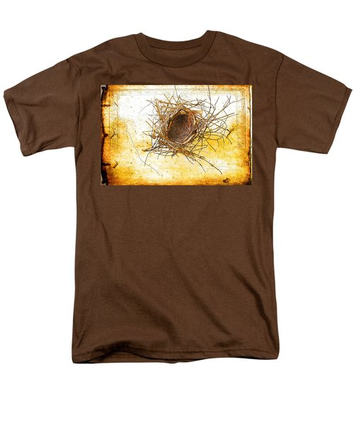 Men's T-Shirt  (Regular Fit) featuring the photograph Let Go by Jan Amiss Photography