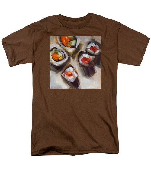 Let's Do Sushi Men's T-Shirt  (Regular Fit) by Tracy Male