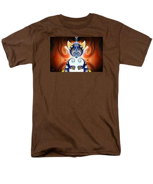 Li Shou - Ancient Chinese Cat Goddess Men's T-Shirt  (Regular Fit) by Jim Pavelle
