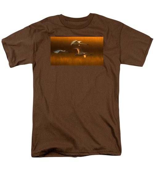 Men's T-Shirt  (Regular Fit) featuring the painting Light by Kelly Marquardt