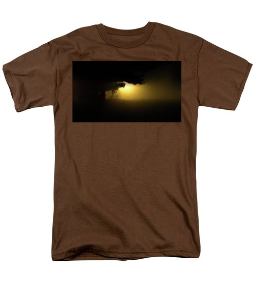 Light Through The Tree Men's T-Shirt  (Regular Fit) by Leeon Pezok