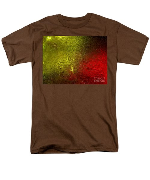 Men's T-Shirt  (Regular Fit) featuring the photograph Light Under Ice by Trena Mara