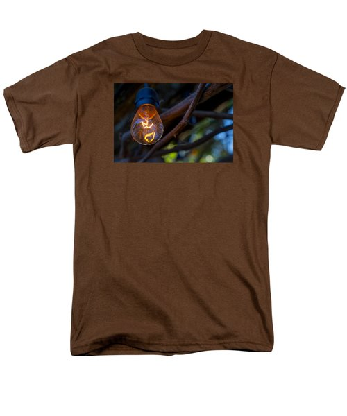 Lightbulb Men's T-Shirt  (Regular Fit) by Derek Dean
