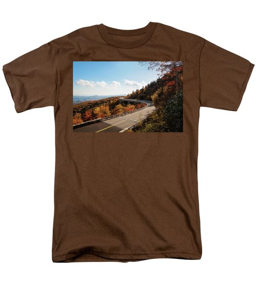 Linn Cove Viaduct Men's T-Shirt  (Regular Fit) by Deborah Scannell