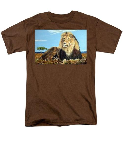 Lions Pride Men's T-Shirt  (Regular Fit)