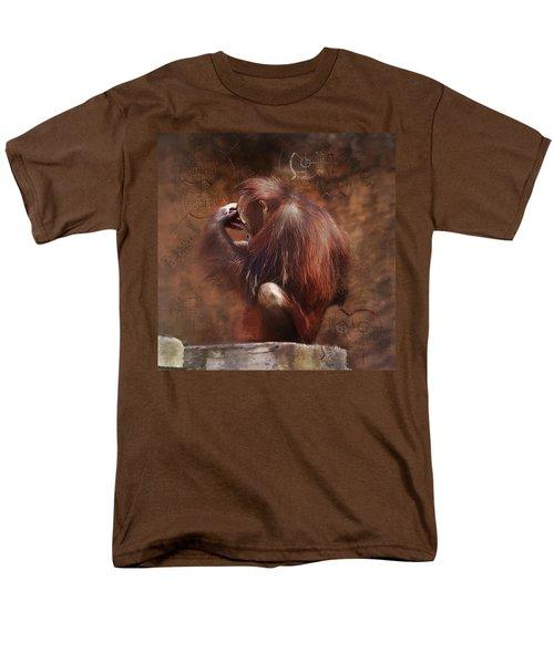 Men's T-Shirt  (Regular Fit) featuring the photograph Little Einstein by Sharon Jones