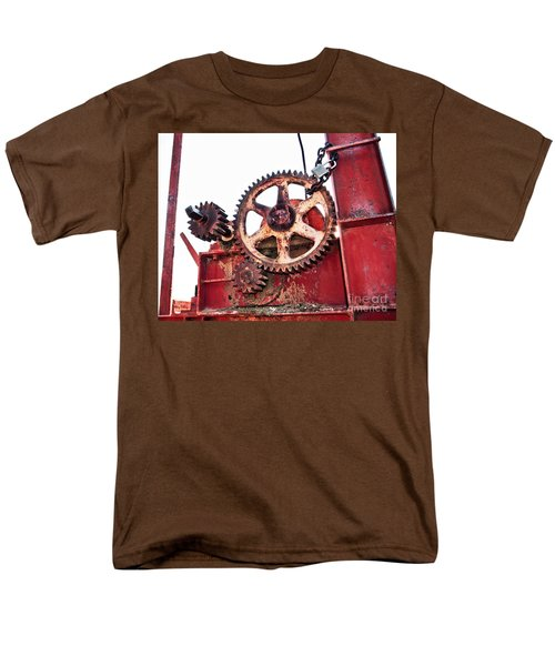 Men's T-Shirt  (Regular Fit) featuring the photograph Locked In History by Stephen Mitchell