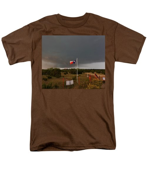 Lone Star Supercell Men's T-Shirt  (Regular Fit) by Ed Sweeney