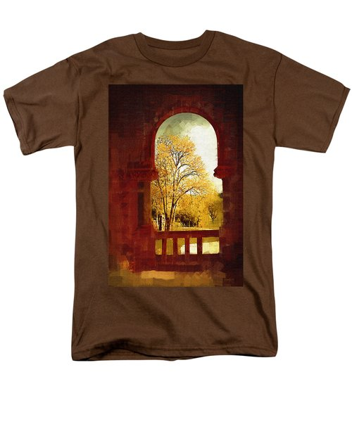 Men's T-Shirt  (Regular Fit) featuring the digital art Lookin Out by Holly Ethan