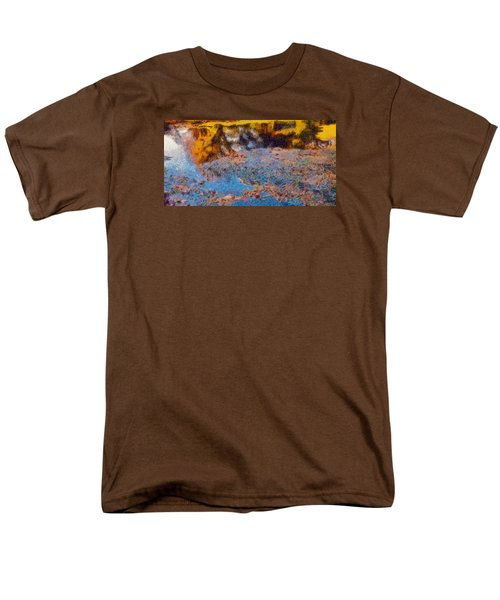 Lost In The Pond Men's T-Shirt  (Regular Fit) by Spyder Webb