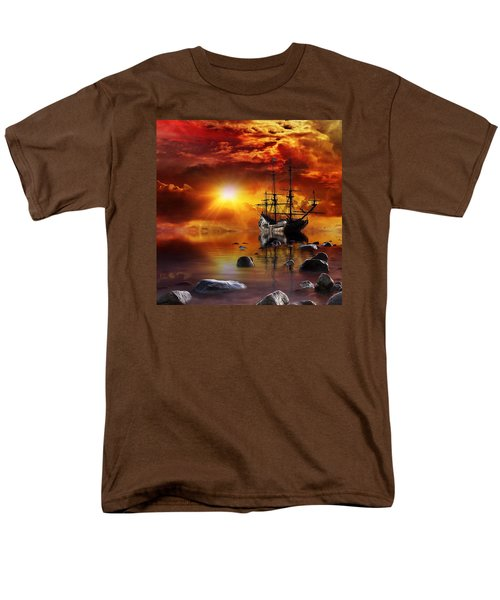 Lost In Time Men's T-Shirt  (Regular Fit) by Gabriella Weninger - David