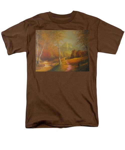 Lothlorien Men's T-Shirt  (Regular Fit) by Joe  Gilronan