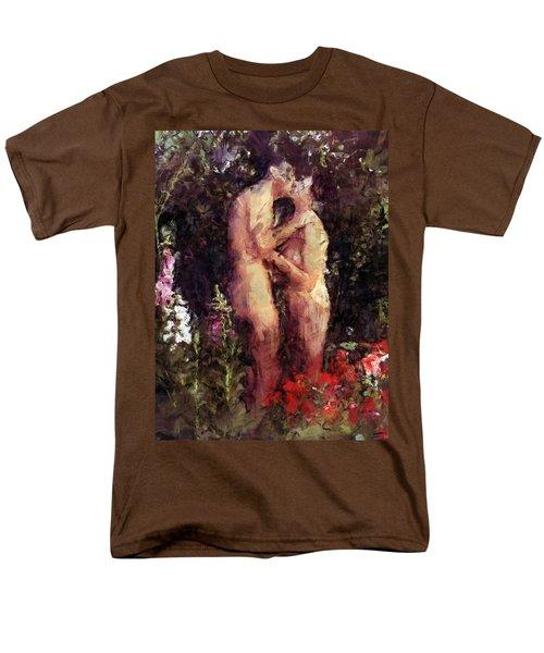 Love Me In The Garden Men's T-Shirt  (Regular Fit) by Kurt Van Wagner