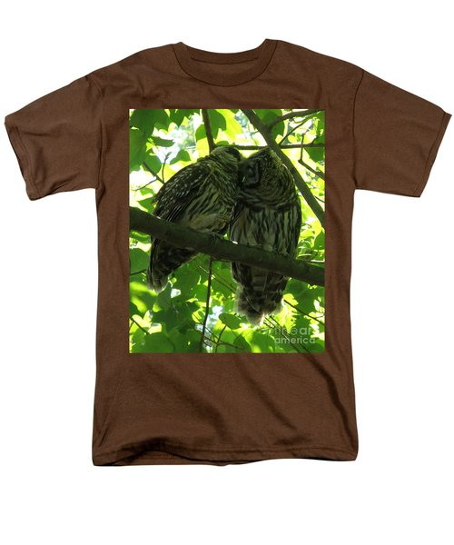 Love Owls Men's T-Shirt  (Regular Fit) by Lainie Wrightson