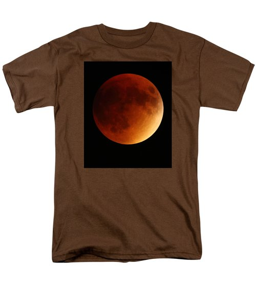 Men's T-Shirt  (Regular Fit) featuring the photograph Lunar Eclipse 1 by Coby Cooper