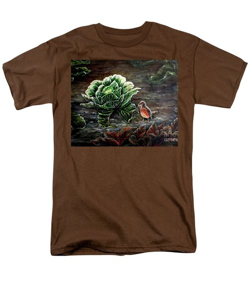 Lunch In The Garden Men's T-Shirt  (Regular Fit) by Judy Kirouac