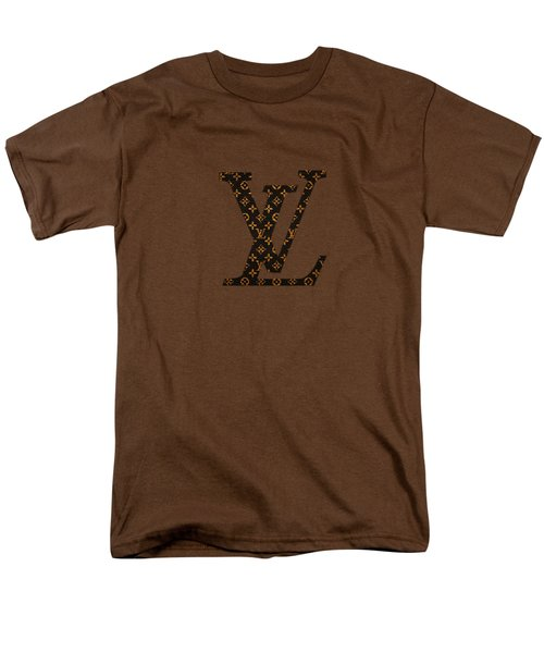 Lv Pattern Men's T-Shirt  (Regular Fit) by Janis Marika